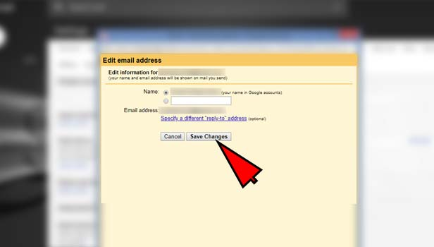 change Gmail address
