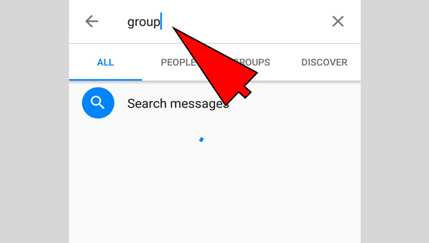 leave a group on messenger