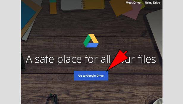 sign out of google drive