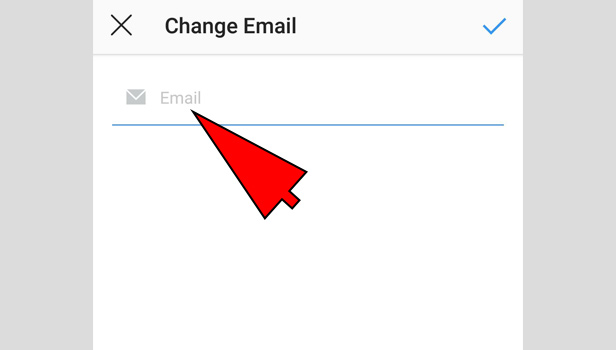 change Instagram Email