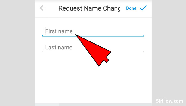Request name change on imo