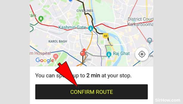 Ola Multiple Stops