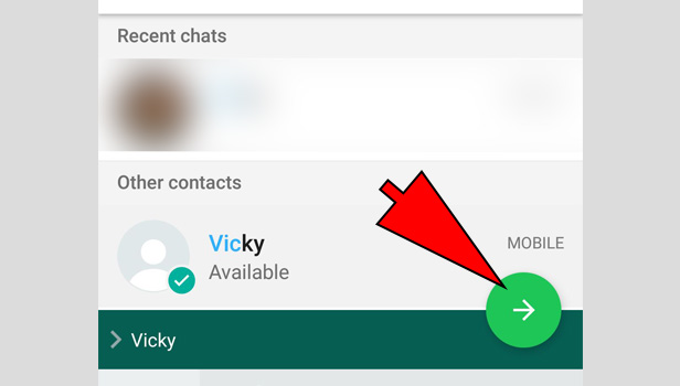 invite someone to WhatsApp group on Android