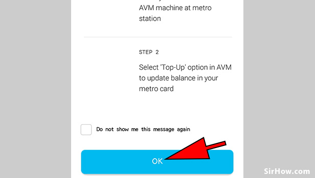 Recharge your metro card using paytm