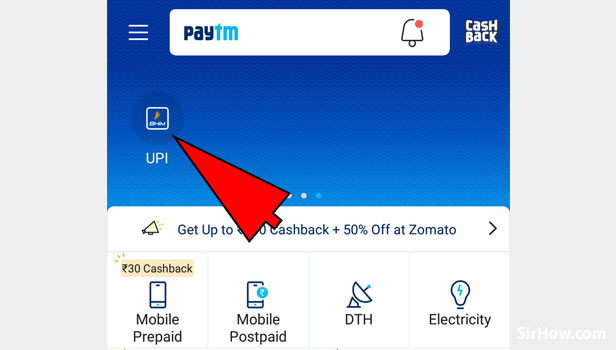 Check bank balance in Paytm