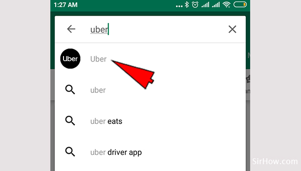 Download Uber App