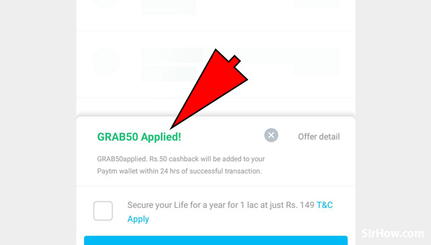 Get free recharge in Paytm