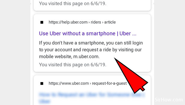 Book Uber without App