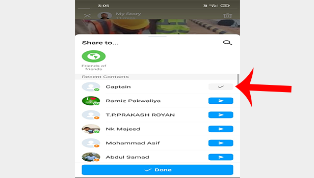 download imo story video