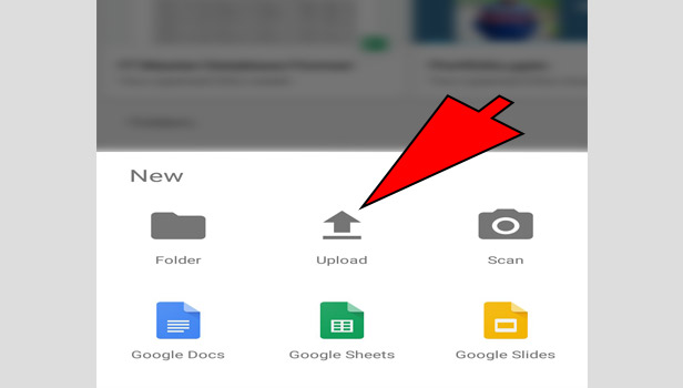 upload to google drive