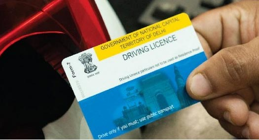 apply for driving licence in Delhi