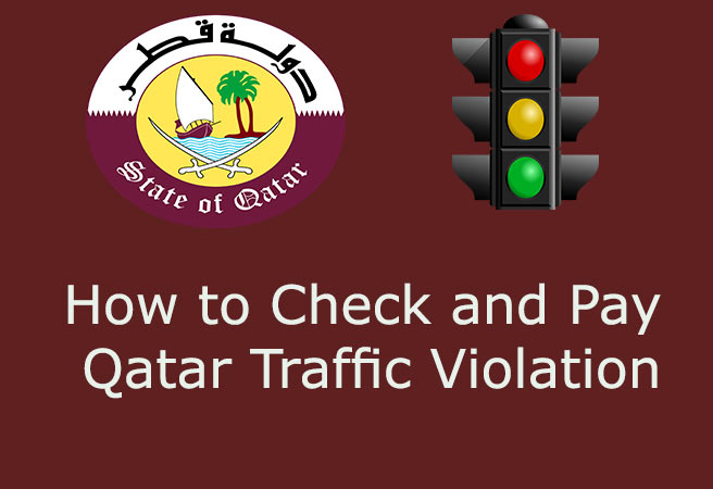 Qatar Traffic Violation