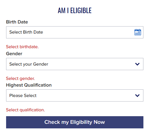 Am I Eligible for Navy