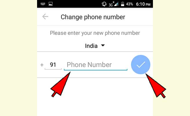 How to change imo number