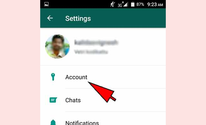How to change WhatsApp number
